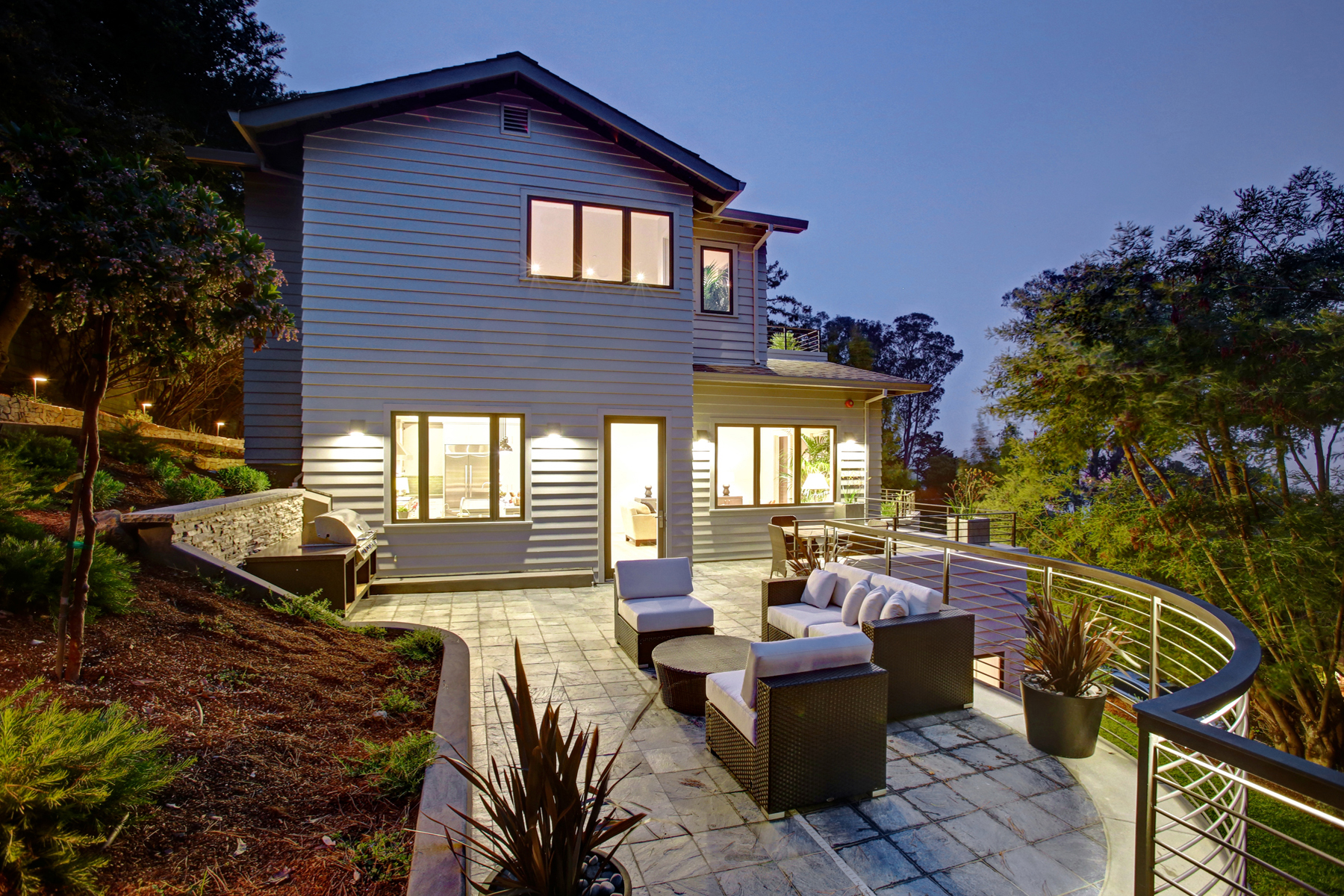 Mill valley residence jyasf structural engineers for Homes in mill valley ca